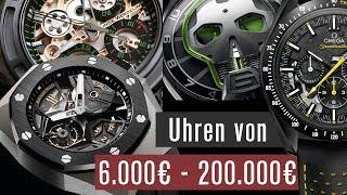 Elite-Uhren für Reiche  6.000-200.000 € | Wahre Meisterwerke
