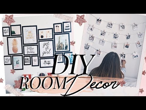 DIY Room decor ♡ Decora tu cuarto TUMBLR | Nati Aristi