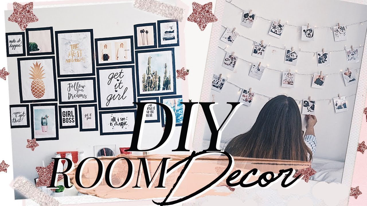 Diy room decor decora tu cuarto tumblr nati aristi for Manualidades para decorar tu cuarto