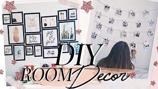 DIY Room decor ♡ Decora tu cuarto TUMBLR | Nati Aristi