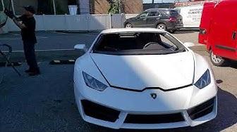 Lamborghini Huracan Windshield Replacement  NJ New Auto Glass