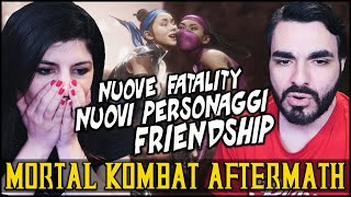 NUOVE FATALITY, PERSONAGGI E FRIENDSHIP! Mortal Kombat 11 Aftermath