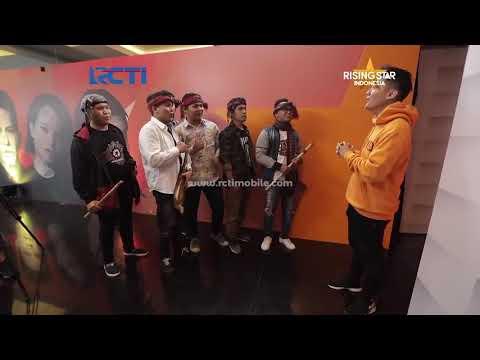 Judika Feat D' Bamboo Lagu Batak Jamila, Keren Abis... Rising Star Indonesia 2018