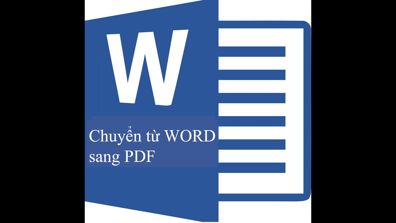 Chuyển từ file Word sang file PDF – Chuyển Word Sang PDF 2015
