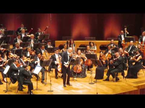 Concierto violín (I. Allegro). Beethoven. Massimo Quarta. OFUNAM