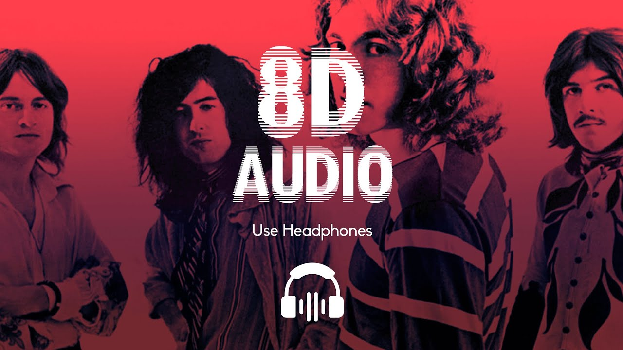 Led Zeppelin Dazed And Confused 8d Audio Youtube