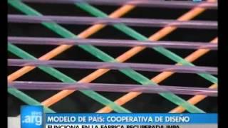 Vivo en Argentina - Historias nuestras: Cooperativa de diseño del IMPA - 08-03-12