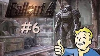 Fallout 4 Game play/ Let's Play - (PS4) - Part 6 - JOURNEY TO DIAMOND CITY!
