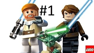 [PS2] LEGO StarWars: The Videogame Прохождение #1