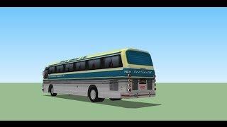 SketChup tutorial PART -2 como modelar um onibus CMA-SCANIA K-113 CL 360