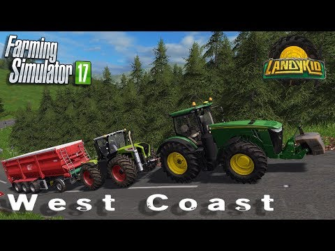 Farming Simulator 17 | West Coast | let's see if my internet holds together