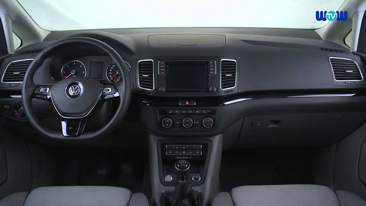 The new Volkswagen Sharan - Interior and Exterior Design - YouTube