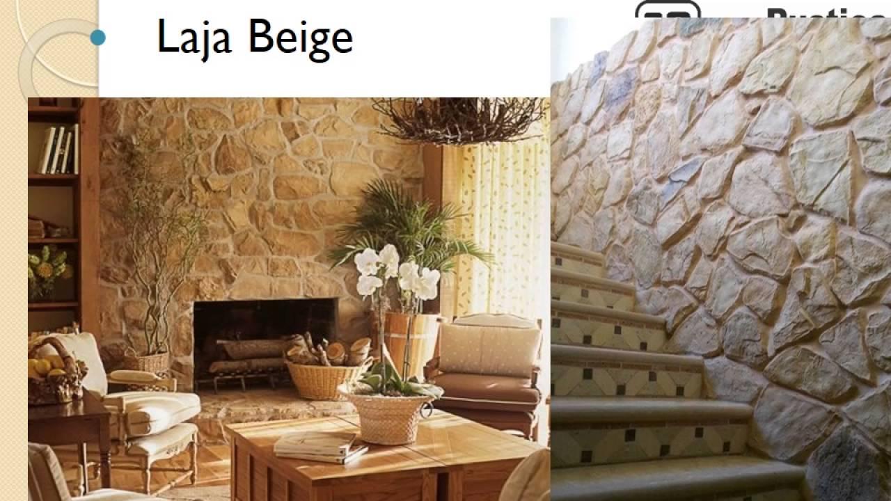 Fachadas y muros de piedra cultivada rustica stone youtube - Muros de piedra ...