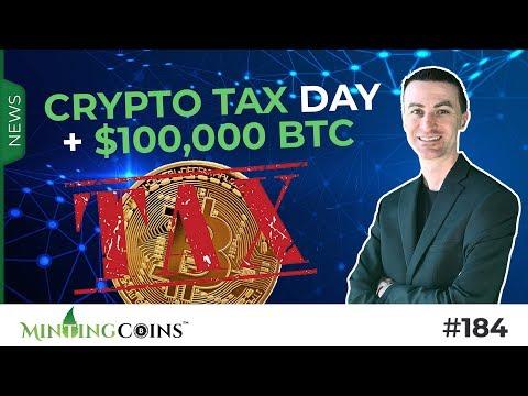 #184 Crypto Tax Day + $100,000 BTC (JPMorgan & Big Money Incoming)
