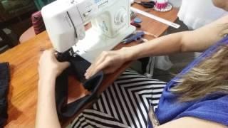 Disfarçando a gordurinha da barriga (parte 2) Costura