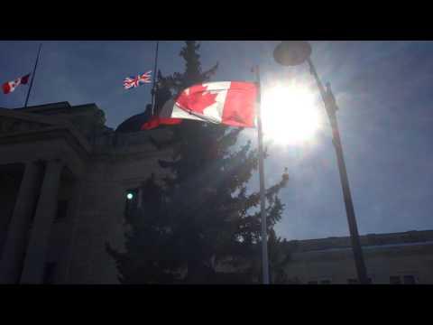 Sask Legislature marks the end of Canada