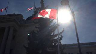 Sask Legislature marks the end of Canada