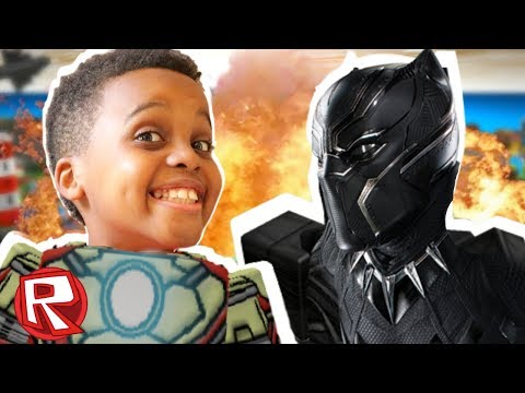 Black Panther Superhero Tycoon - Roblox Gameplay - Playonyx