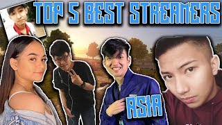 TOP 5 BEST ROS STREAMERS in ASIA! NRX Saxy, Jayzee and more!