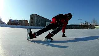 Freestyle ice skating/ трюки на коньках 2018