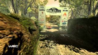 WRC 2010 Gameplay + Replay (PC HD) Rally New Zealand - New Franklin 1