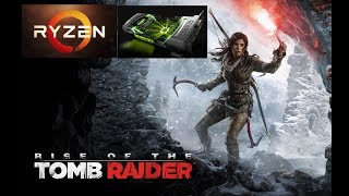 Ryzen 7 1700 and GTX 980 Rise Of The Tomb Raider Gameplay | Approaching Storm