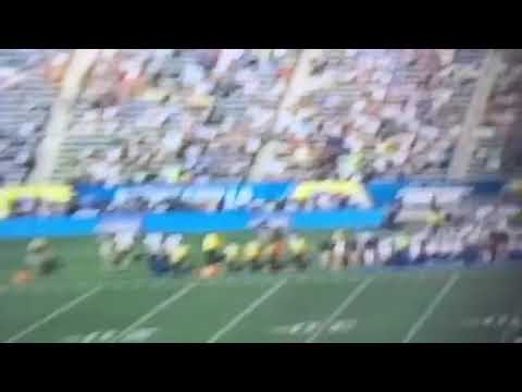 LA Chargers Playing Seattle Seahawks In Half Empty Stadium For First Game