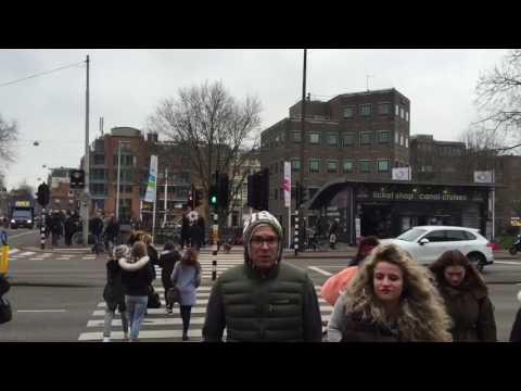 Amsterdam trip. Coffee shop. Red light district. Rotterdam