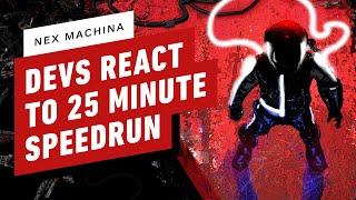 Nex Machina Developers React to 25 Minute Speedrun