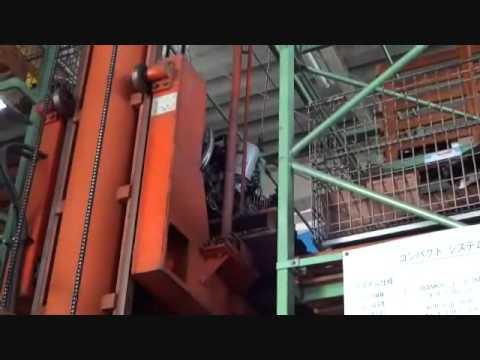 三菱キャンターFE53EEV、4M51エンジンの出荷梱包作業posted by simbasan8g
