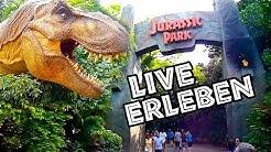 Reportage: Jurassic Park im Freizeitpark