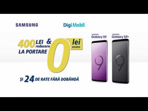 Oferta Digi Mobil - Samsung Galaxy S9 si S9+ - YouTube