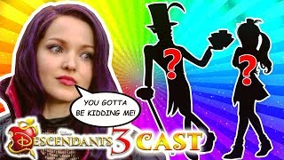 🍎 DESCENDANTS 3 CAST Latest 2 NEW Characters CONFIRMED! ✌️ ft. DR. FACILIER and his Daughter CELIA!
