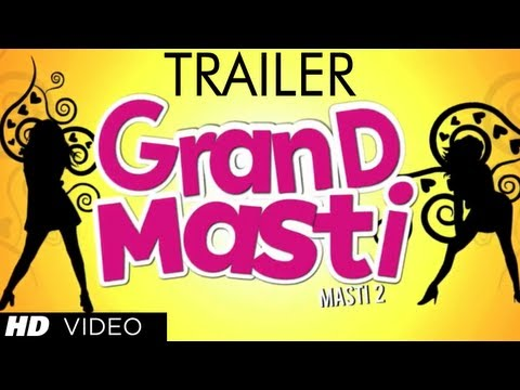 """Grand Masti Trailer"" Official 2013 | Riteish Deshmukh,Vivek Oberoi,Aftab Shivdasani"