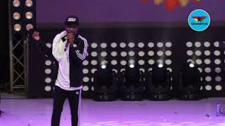 Kenny Blaq performs renditon of 'One Corner' at 2018 Easter Comedy show