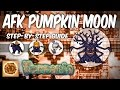 Terraria AFK Pumpkin Moon Farm Step-by-Step Build Tutorial (1.3 events)