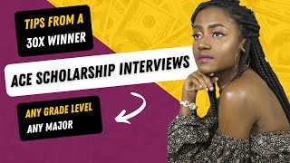 Ace Your Scholarship Interview   Top Tips & How To Answer Interview Questions