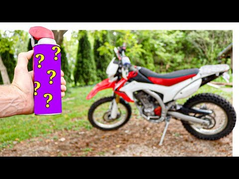 The Secret To Cleaning Stained Dirt Bike Plastics | From Grime To Shine
