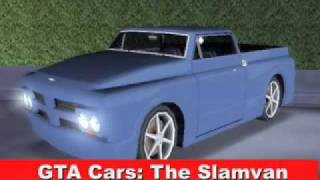 GTA Cars The Slamvan