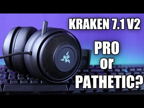 Razer Kraken 7.1 V2 Review And Mic Test