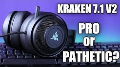 Razer Kraken 7.1 V2 Review and Mic Test