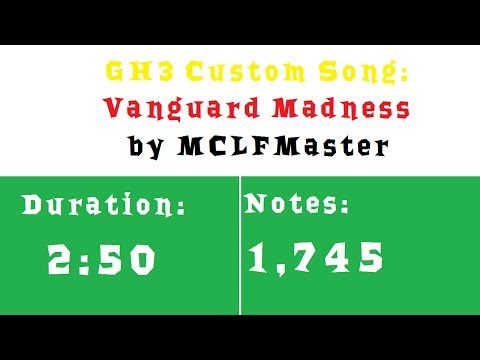 GH3: Vanguard Madness by MCLFMaster (Preview)