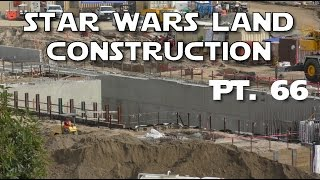 Repeat youtube video Star Wars Land  - We've got a concrete pool! - Pt. 66 | 01-15-17