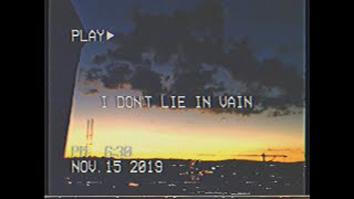 SDMike - I Don't Lie In Vain (Official Video)