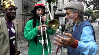 Chika Dobri, Hornsman Coyote & Jah Mason - pesma Beogradu