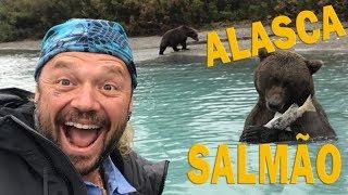 DEFUMANDO SALMÃO NO ALASCA, A TERRA DOS URSOS! | RICHARD RASMUSSEN