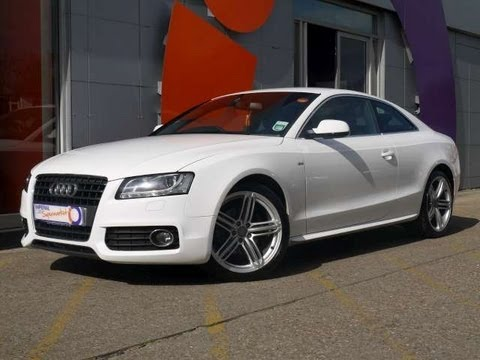 2011 audi a5 s line 2 0tfsi 180 start stop coupe white for sale in hampshire youtube. Black Bedroom Furniture Sets. Home Design Ideas