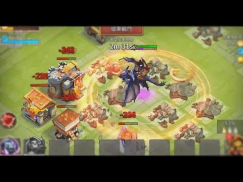 Castle Clash Dracax Gameplay (In Action)