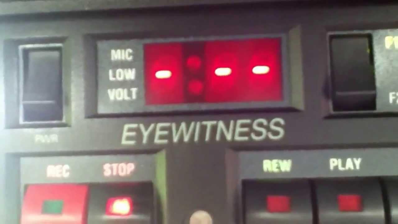 kustom eyewitness police car dash cam youtube rh youtube com Kustom Eyewitness Camera System Kustom Signals Laser