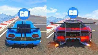 CYCLONE vs BANSHEE 900R | GTA 5 Online Test de velocidad